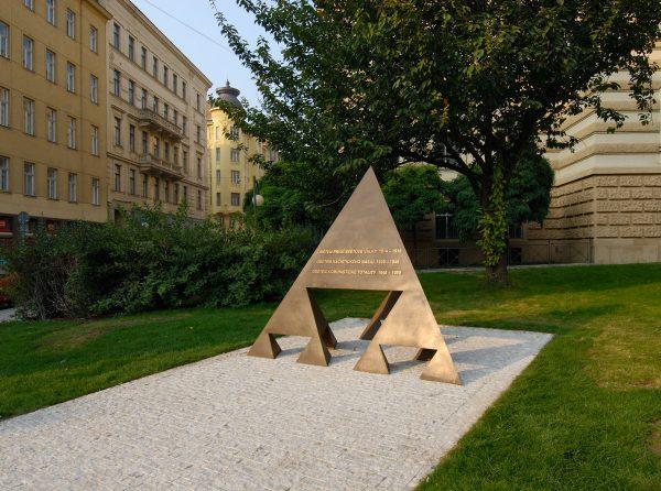 Michal Gabriel - Statue of three resistances in Brno