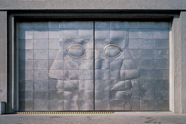 Michal Gabriel - Bronze gate to the Trade Fair Palace - Prague